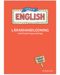 Learn English lärarhandledning åk 3