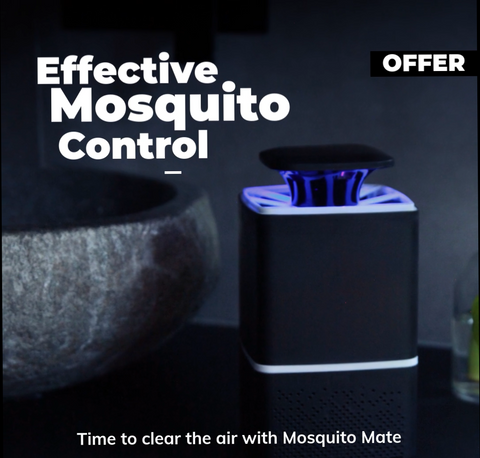 mosquito trap lamp uv killer insect bug repellent nontoxic chemical free capturing flying luring ultra violet bedroom camping outdoor sprays coils nets hassle usb sleep