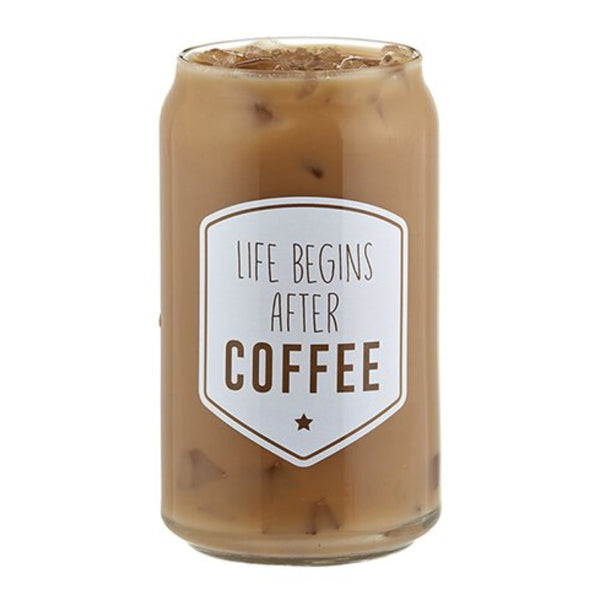 Iced Coffee Glass