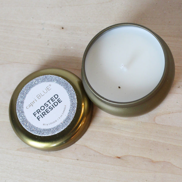 Mini Holiday Candle Tins