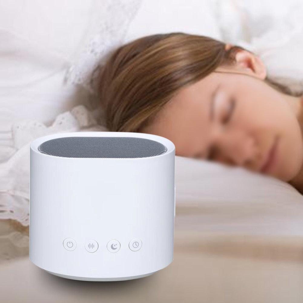 White Noise Sleep Machine with 18 Soothing Nature Sounds