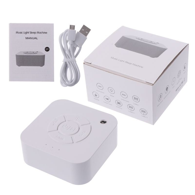 White Noise Sound Machine for Sleeping & Relaxation