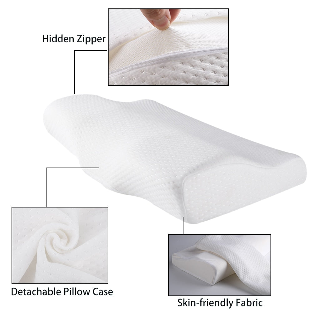 Butterfly-shaped Memory Foam Pillow