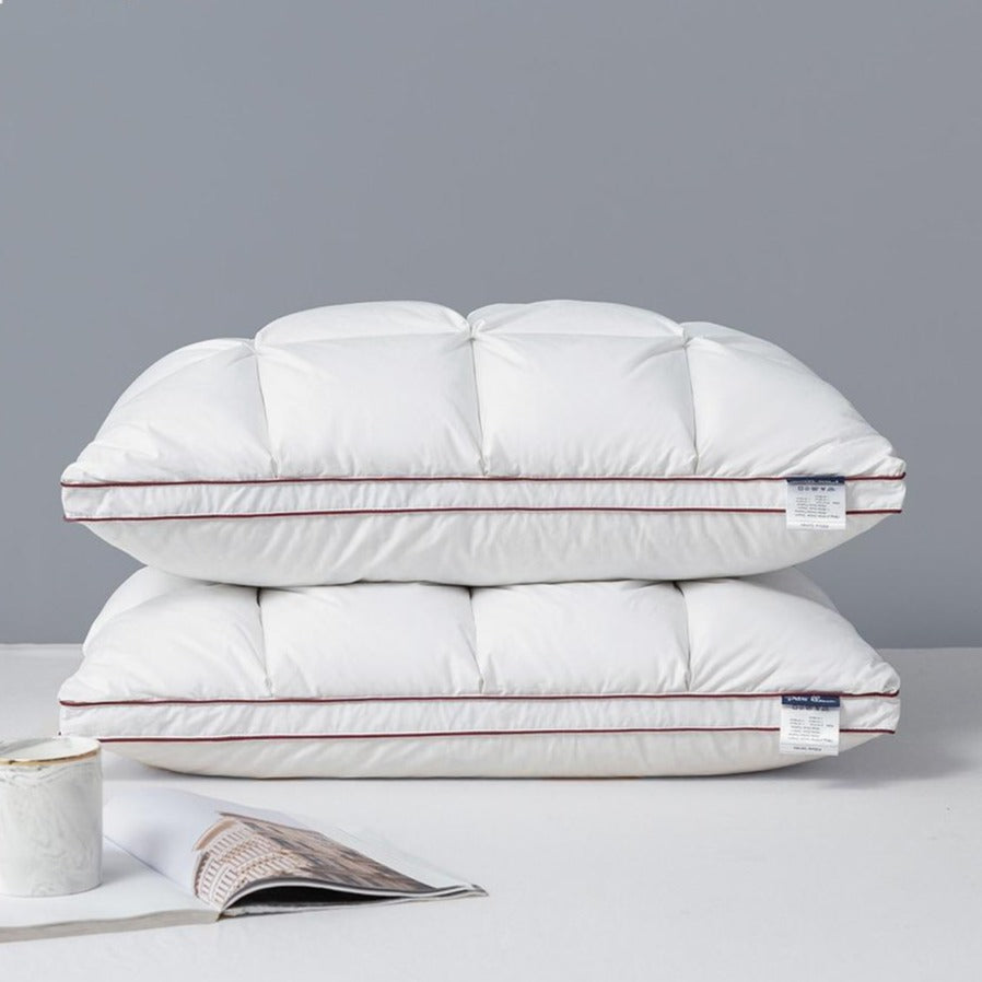 Duck or Goose Down Feather Pillow