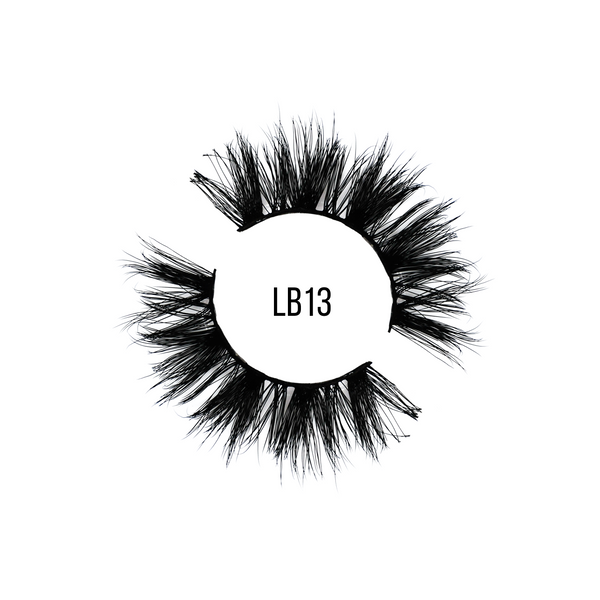 LB13 Mega Volume Strip Lashes - LashBase Beauty