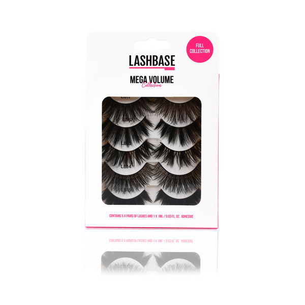 Mega Volume Collection Strip Lashes - LashBase Beauty