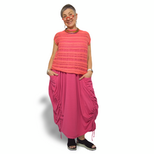 Load image into Gallery viewer, Laila Vest - coral stripe