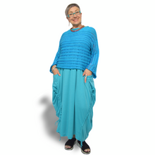 Load image into Gallery viewer, Laila Sweater - turquoise stripe
