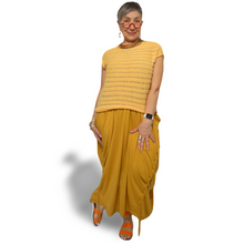Load image into Gallery viewer, Laila Vest - yellow stripe
