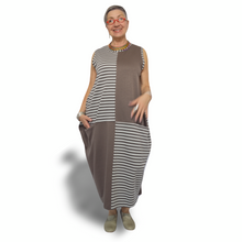 Load image into Gallery viewer, Boho Dress - stripe