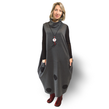 Load image into Gallery viewer, Boho Dress - grey
