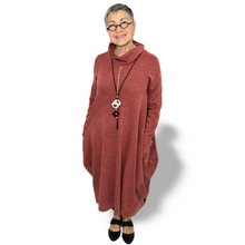 Load image into Gallery viewer, Bonita dress - deep rose