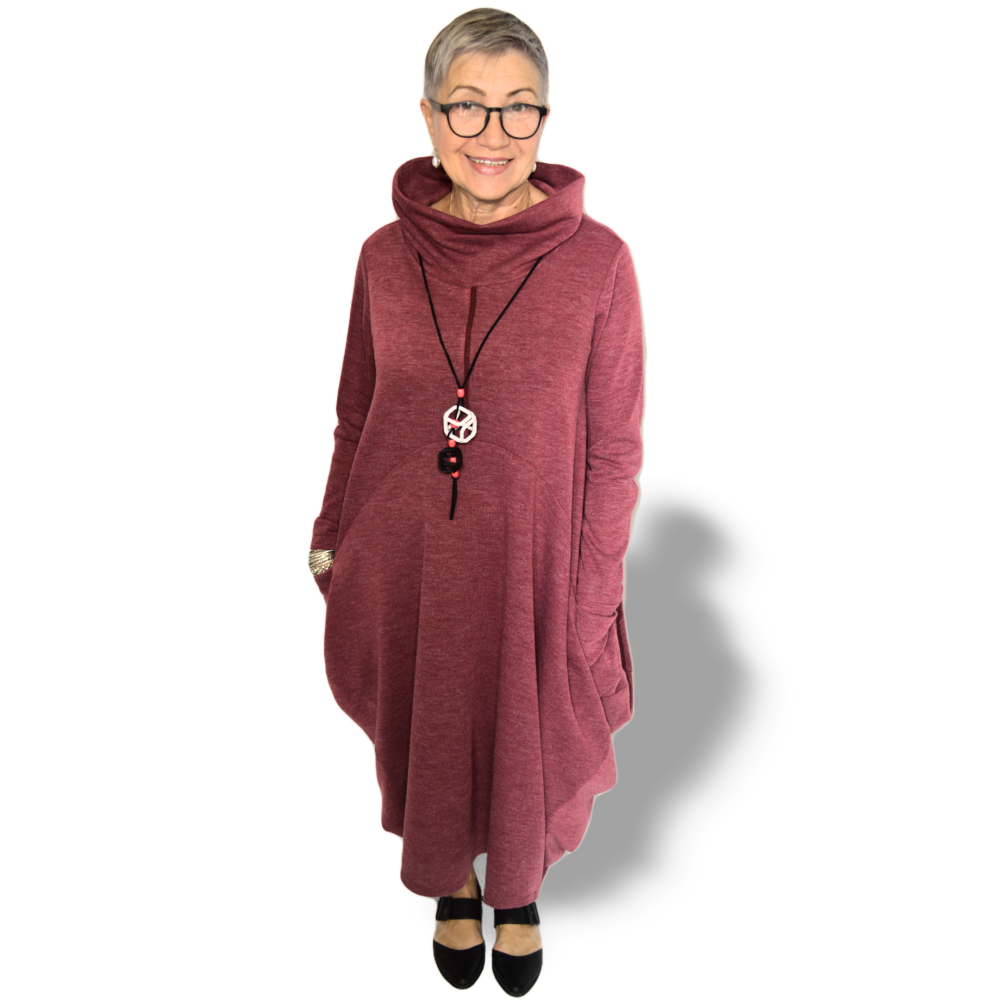 Bonita dress - light burgundy