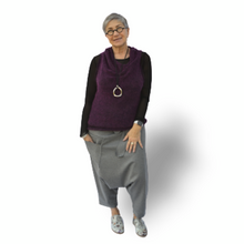 Load image into Gallery viewer, Harem Pants - grey