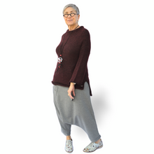 Load image into Gallery viewer, Laila Sweater - burgundy