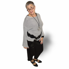Load image into Gallery viewer, Laila Sweater - grey