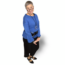 Load image into Gallery viewer, Laila Sweater - royal blue