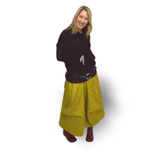 Load image into Gallery viewer, Linen Skirt - green