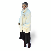 Load image into Gallery viewer, Wooly Jacket - off white