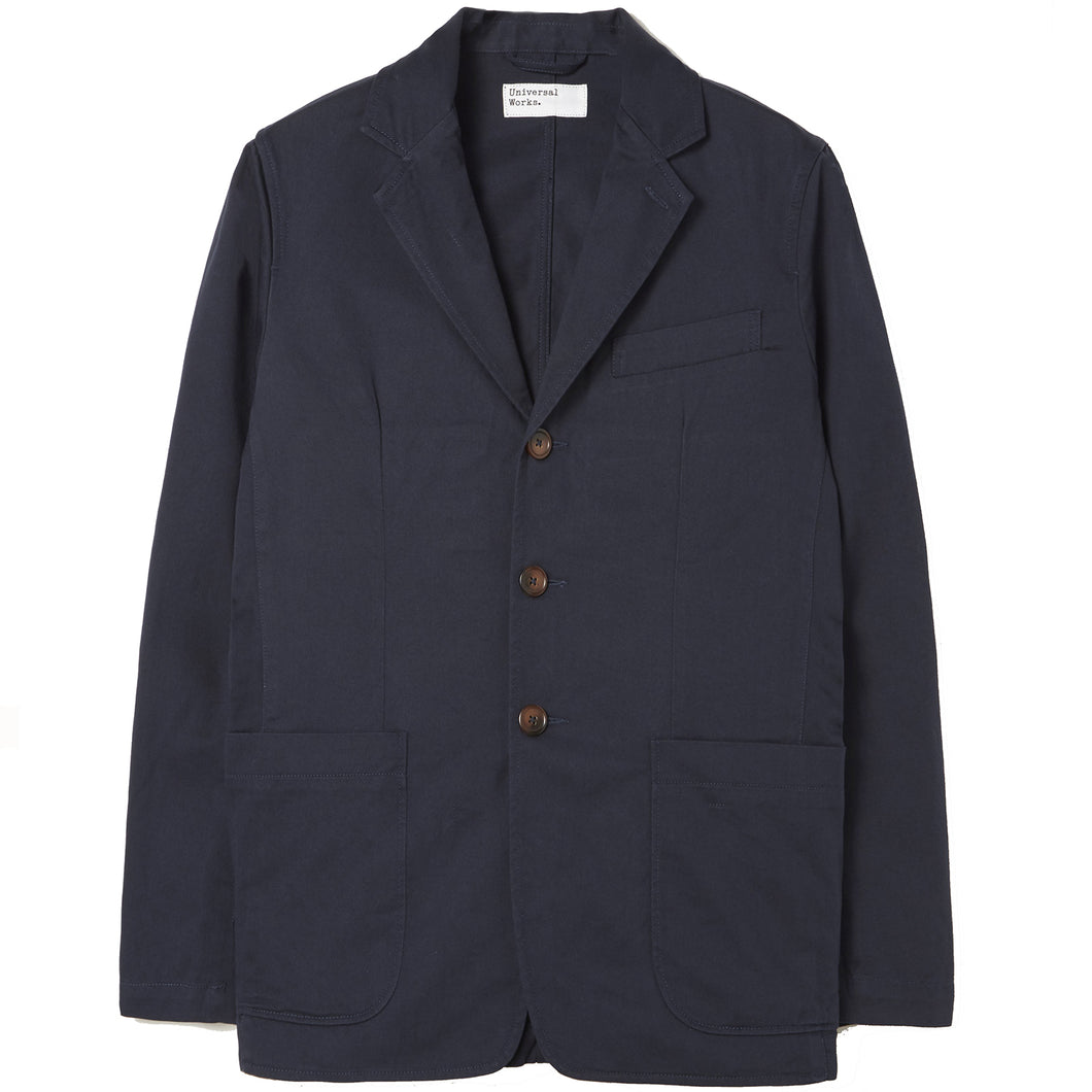 Universal Works London Jacket Navy Twill