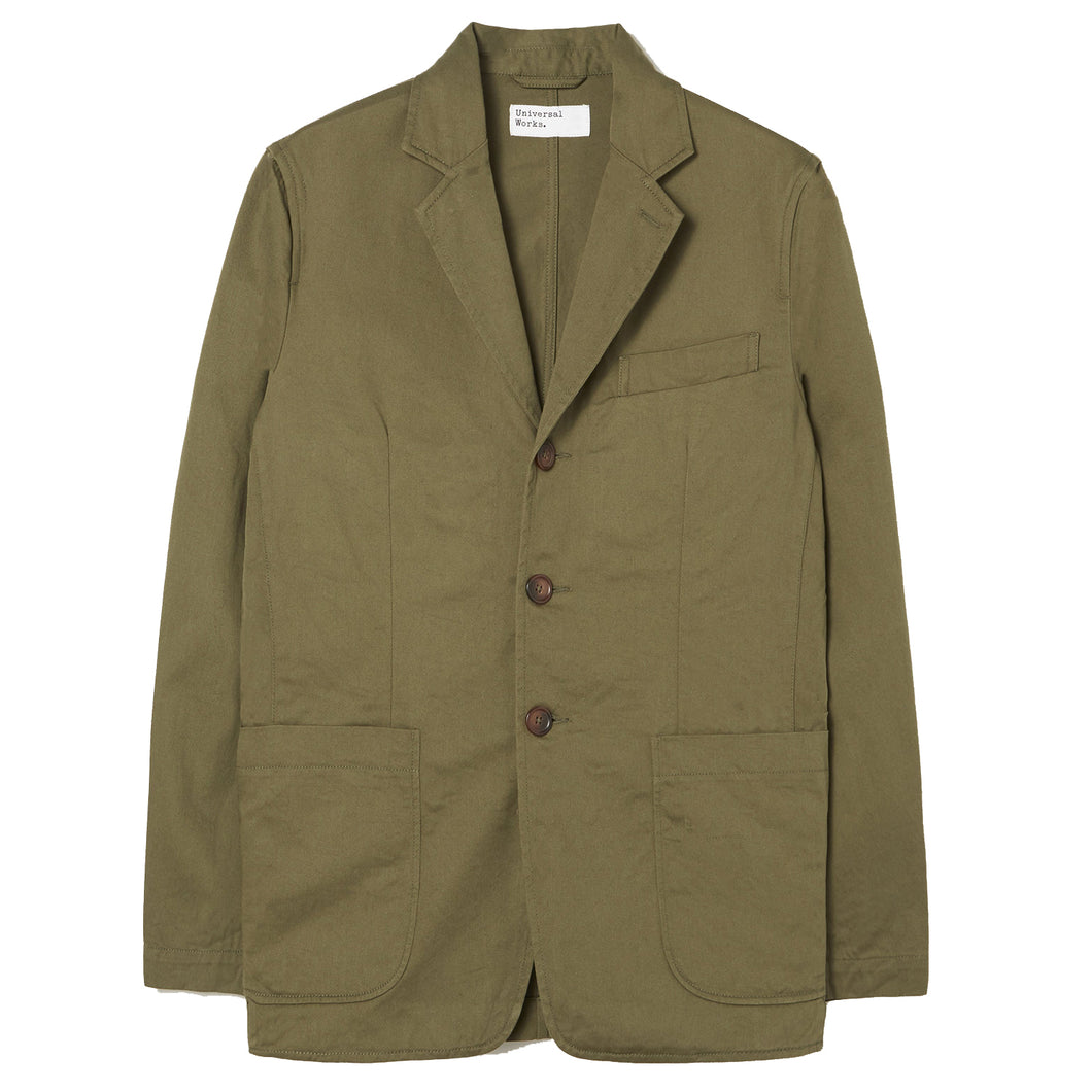 Universal Works London Jacket Olive