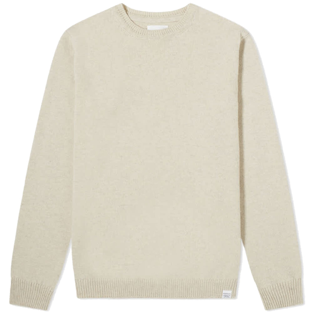 Norse Projects Sigfred Lambswool Oatmeal Melange