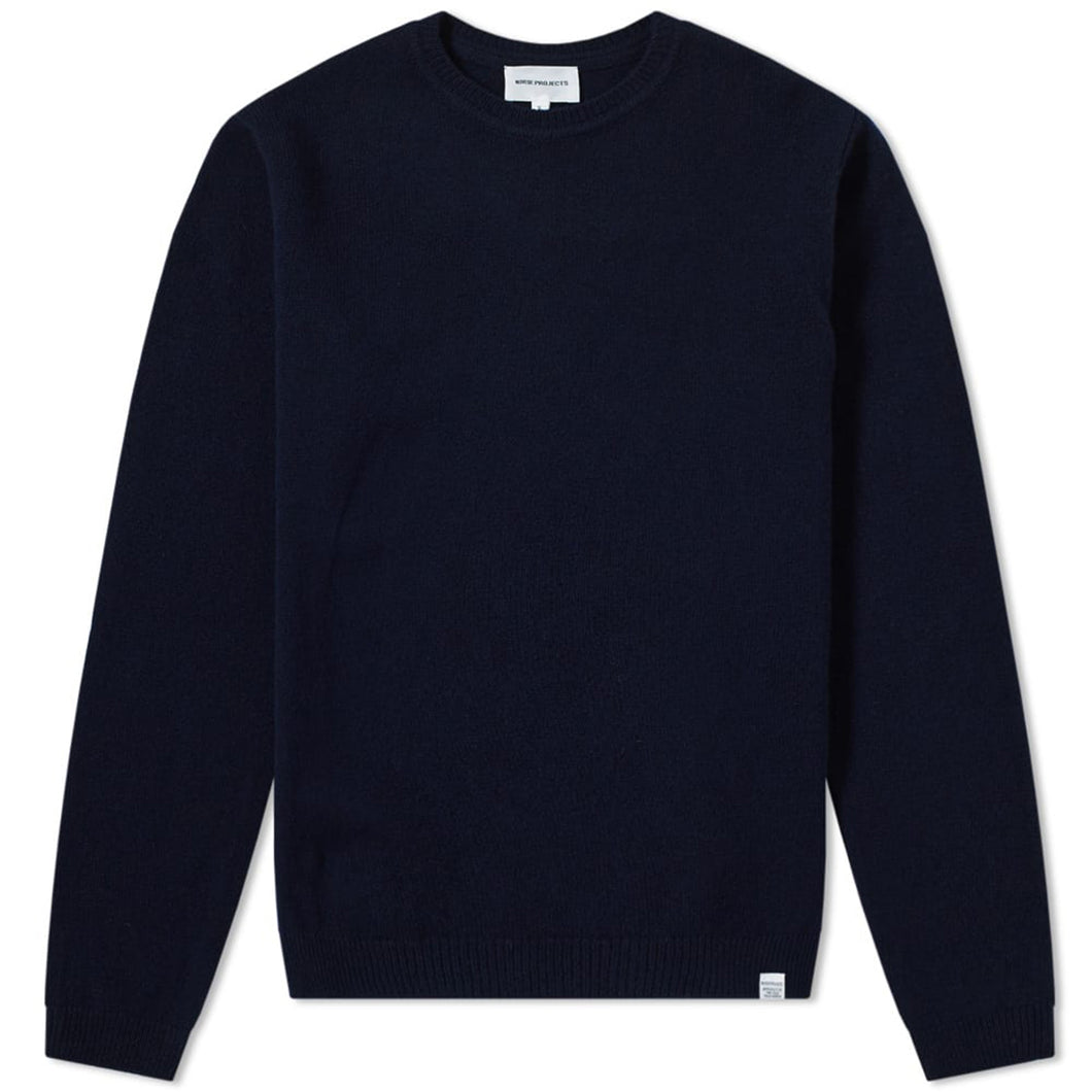 Norse Projects, Sigfred Lambswool, Dark Navy