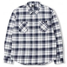 Load image into Gallery viewer, Edwin Labour Shirt Navy/White