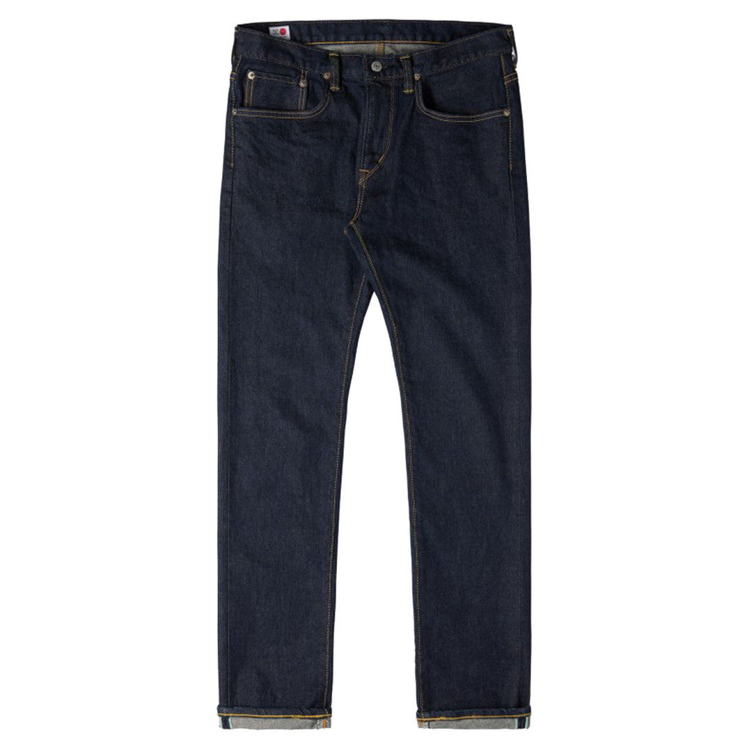 Edwin ED32  Slim Tapered Green Selvage Denim Blue Rinsed