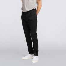 Load image into Gallery viewer, ED-85 Slim Tapered Drop Crotch Jeans CS Ayano Black Denim Rinsed