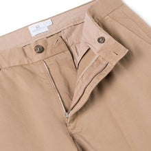 Load image into Gallery viewer, Sunspel Cotton Chino Trousers Stone