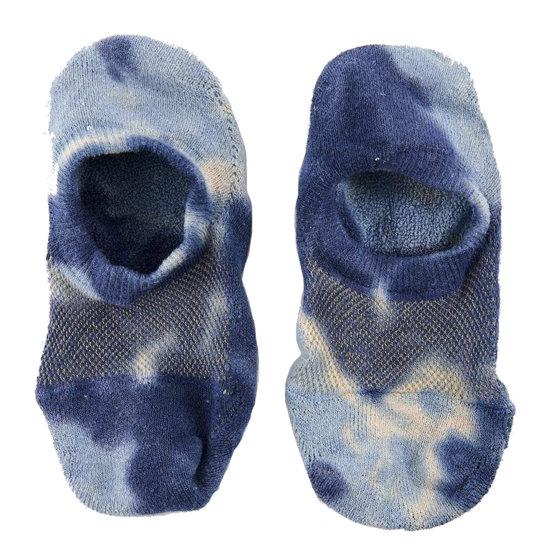 Anonymousism GoHemp Tie Dye No-Show Sock Blue