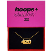 Load image into Gallery viewer, Hoops And Chains 420 Necklace