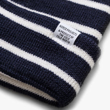 Load image into Gallery viewer, Norse Projects Classic Normandy Beanie Navy