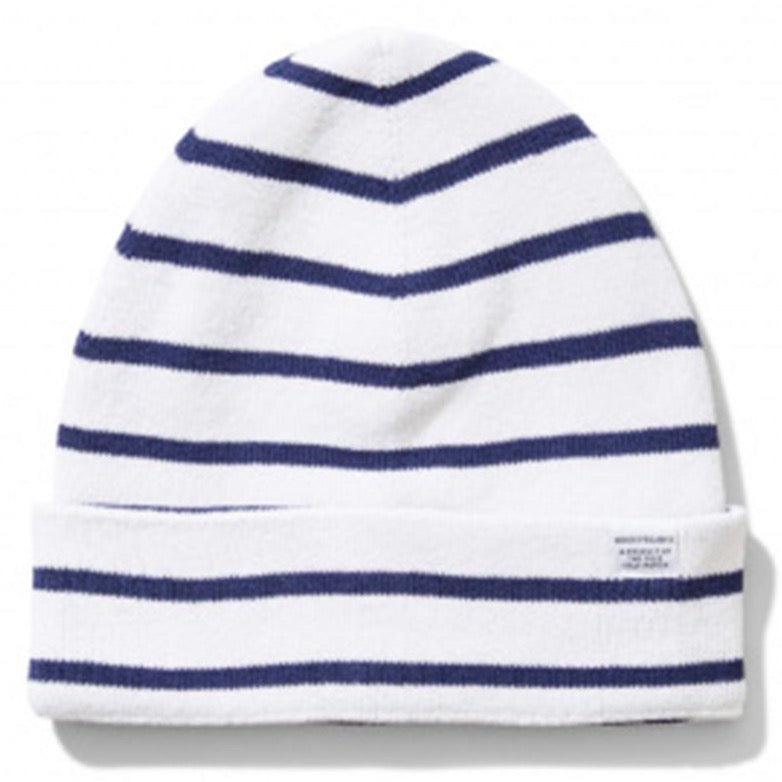 Norse Projects Classic Normandy Beanie Ecru/Navy