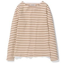 Load image into Gallery viewer, Norse Projects Womens Inge Classic Stripe Khaki