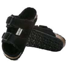 Load image into Gallery viewer, Birkenstock Arizona Suede Leather Black