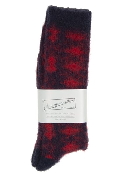 Anonymous Ism Brushed Wool Red /Black