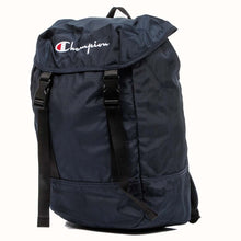 Load image into Gallery viewer, Champion Strap Logo Back Pack Navy Navy