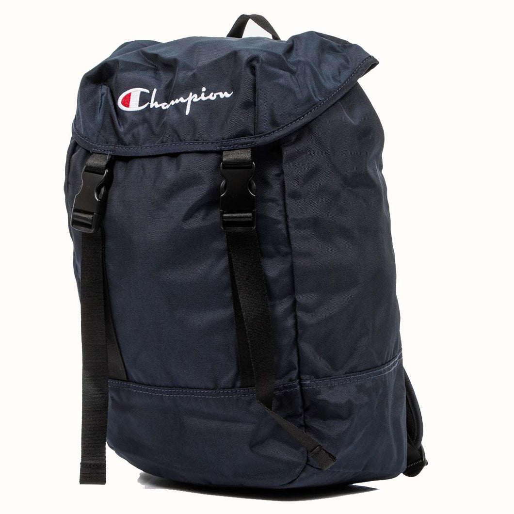 Champion Strap Logo Back Pack Navy Navy