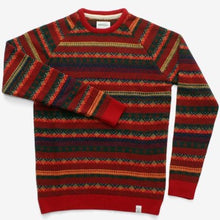 Load image into Gallery viewer, Norse Projects Birnir Multi Knit Jumper Poppy  Red