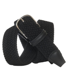 Load image into Gallery viewer, Andersons Classic Elastic Woven Belt Black