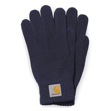 Load image into Gallery viewer, Carhartt WIP Watch Gloves Dark Navy