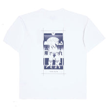 Load image into Gallery viewer, Edwin Tarot Deck T-Shirt White