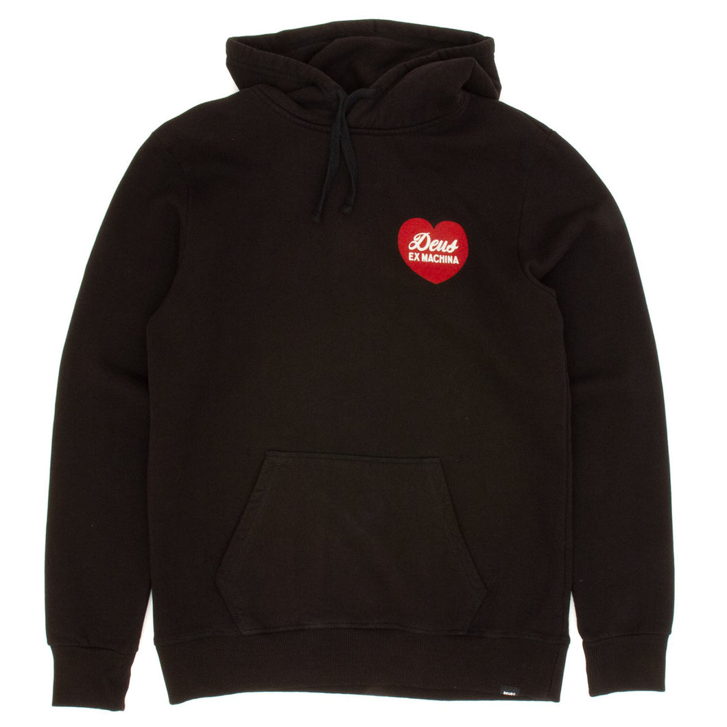 Deus Ex Machina Sentiments Hoodie Black