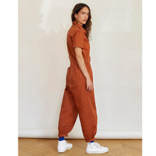 Load image into Gallery viewer, Sideline Lola Jumpsuit Tobacco