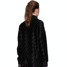 Load image into Gallery viewer, Stine Goya Stewart Jumper Diagonal Stripes Black