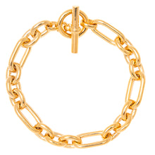 Load image into Gallery viewer, Tilly Sveaas Gold Triple Link Bracelet