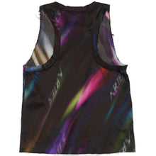Load image into Gallery viewer, Aries Aurora Silk Vest Top Black/Multi