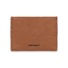 Load image into Gallery viewer, Carhartt WIP Coated Card Holder Hamilton Brown